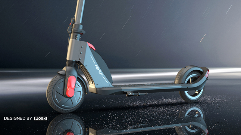 Who said that beauty and strength cannot coexist? These electric scooters can be